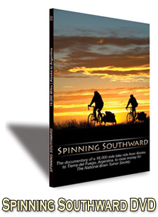 Spinning Southward Documentary DVD